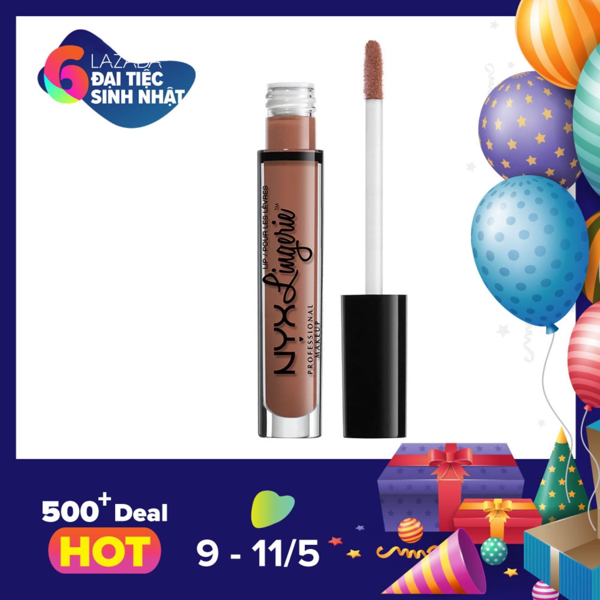 Mua Son Kem Li Nyx Professional Makeup Lingerie Liquid Matte Lipstick Lipli08 Bedtime Flirt Rẻ