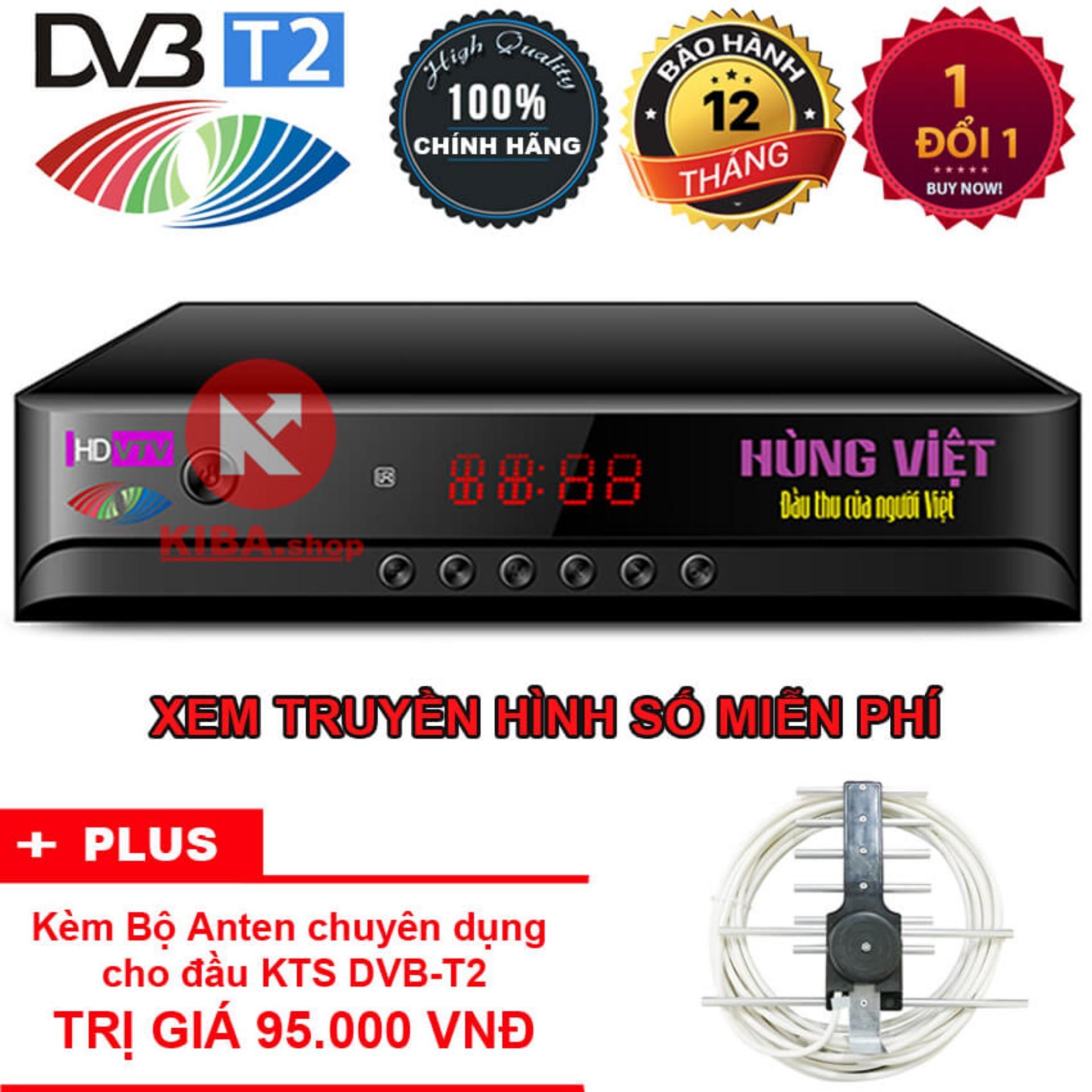 Đầu Thu Kỹ Thuật Số Hung Việt Dvb T2 Hd789S Tặng Anten Kts Dvb T2 Trị Gia 85 000Đ Bắc Ninh