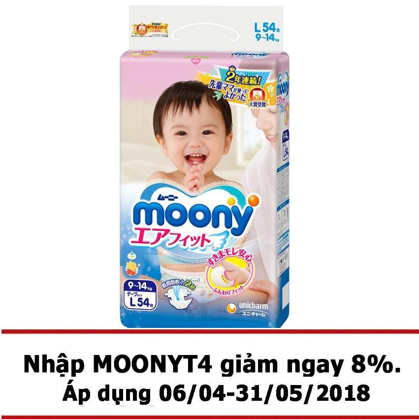 Giá Bán Ta Giấy Moony Tape L 54 Nguyên