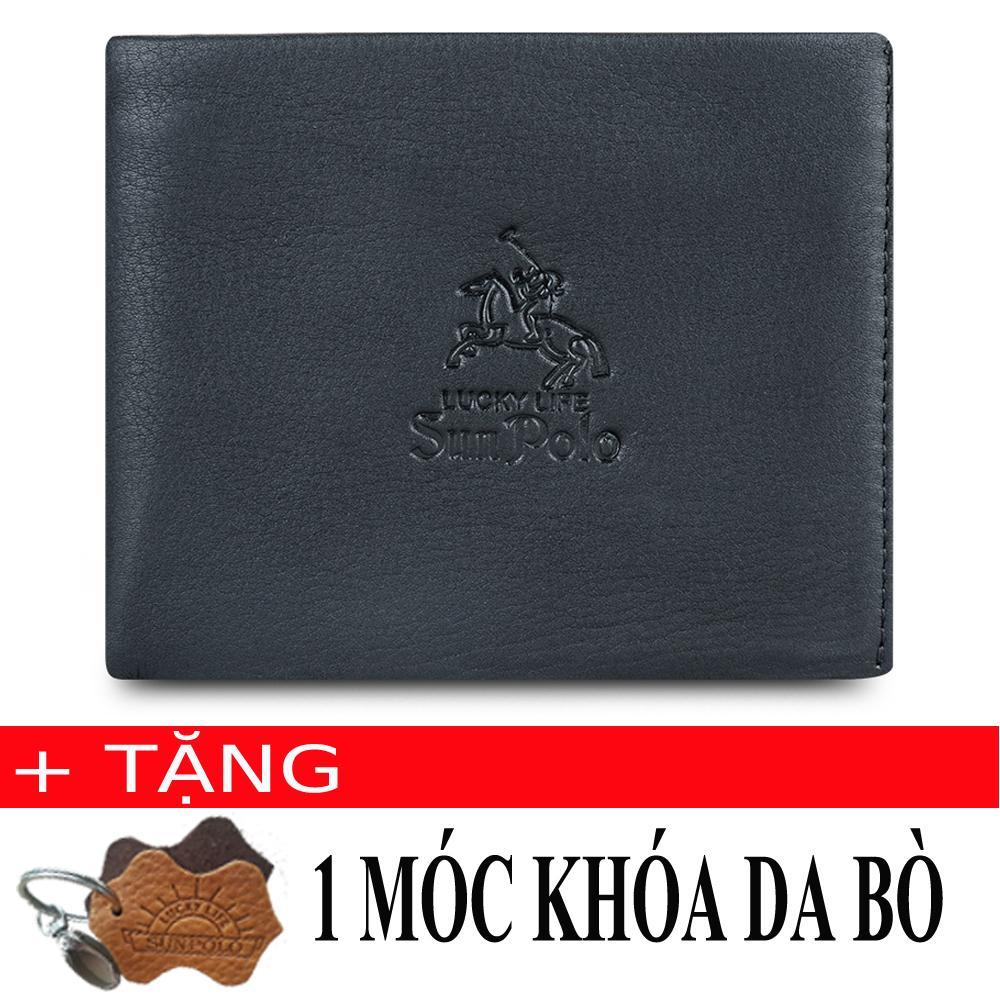 Giá Bán Vi Nam Da Bo Sunpolo Ws01D Đen Tặng Moc Khoa Da Bo Mới Nhất