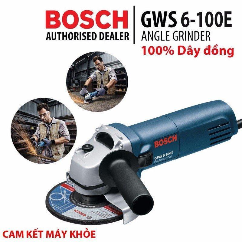 Máy mài góc-  boch GWS 6-100E(tặng đĩa cắt