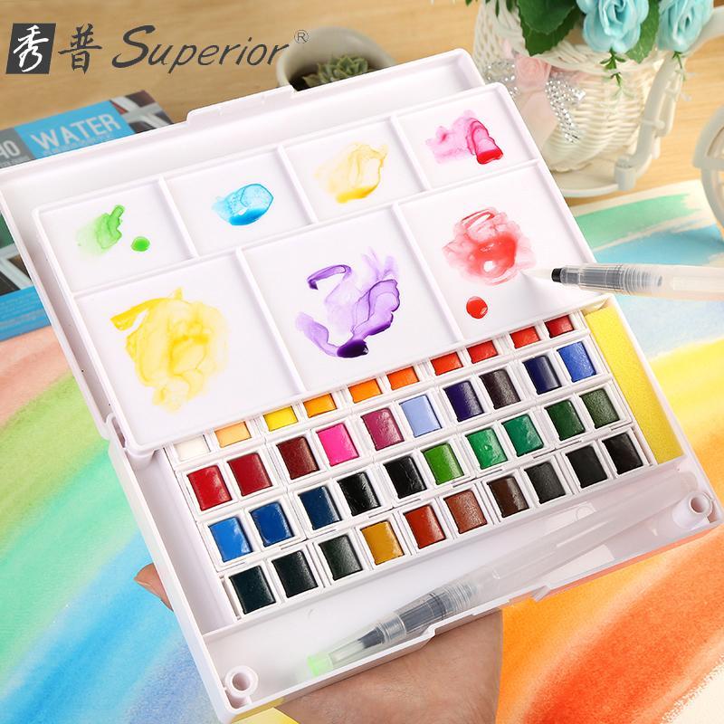 Mua Màu nước SUPERIOR - 12 màu
