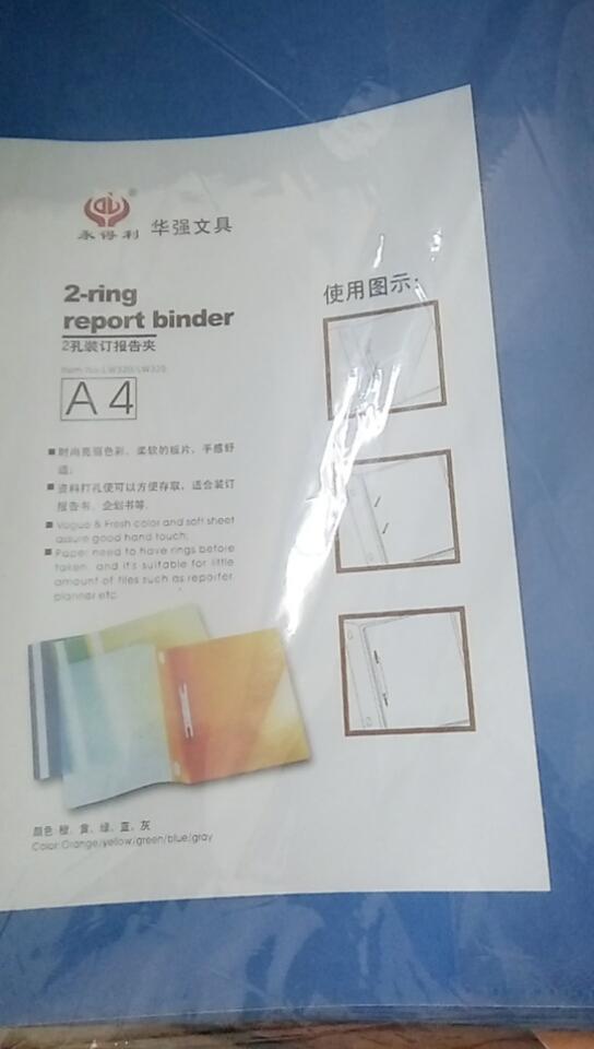 Mua 10 Bìa kẹp giấy  A4 màu xanh 40.000đồng