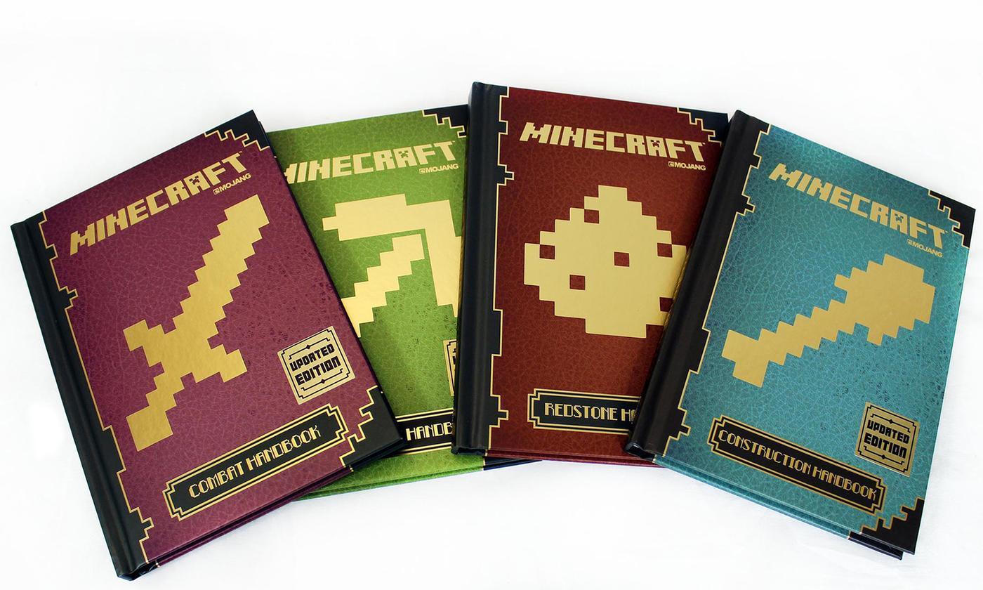 Hình ảnh Bộ sách Minecraft Handbook Updated edition phiên bản mới nhất
