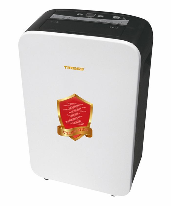 Bảng giá Máy Hút Ẩm Tiross TS886 240W (Trắng)