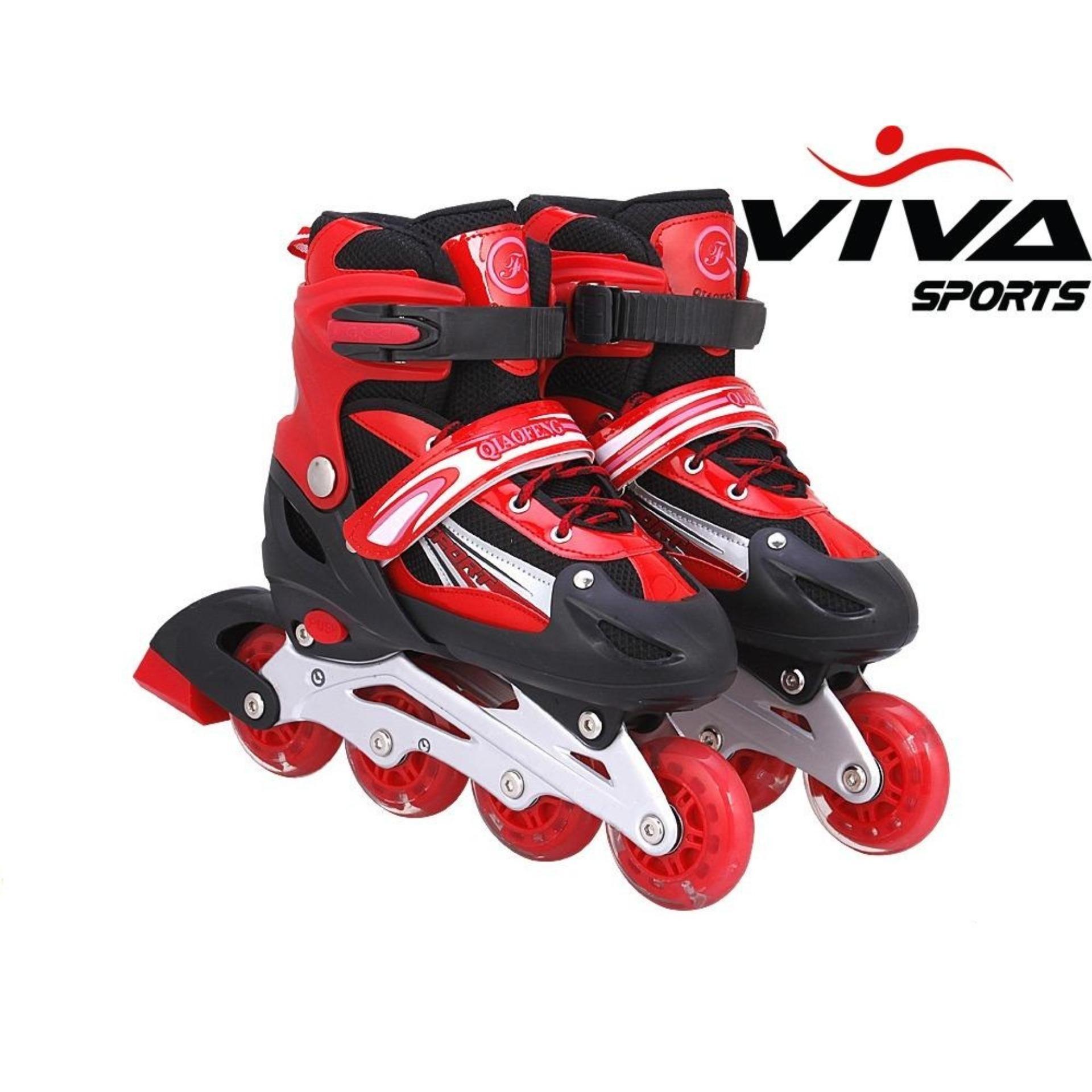 Giày Patin Đỏ Size M (32-36)