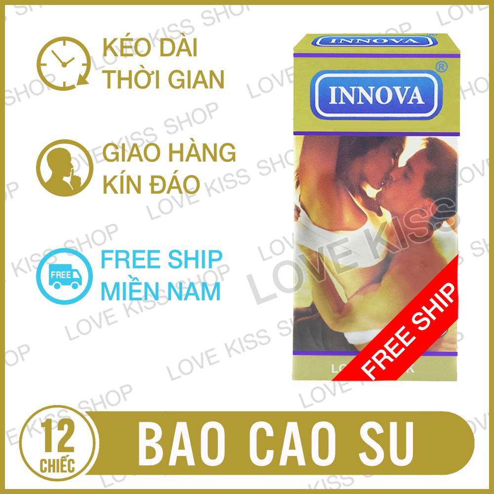 Hình ảnh [Freeship] Hộp bao cao su Innova Vàng (Hộp 12 chiếc) [ LOVEKISS-BCS01 ]