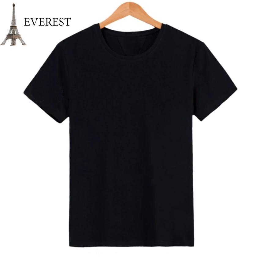 Áo thun trơn nam form rộng phong cách hàn quốc vải dày mịn Everest E3 (Đen) Thời Trang Everest