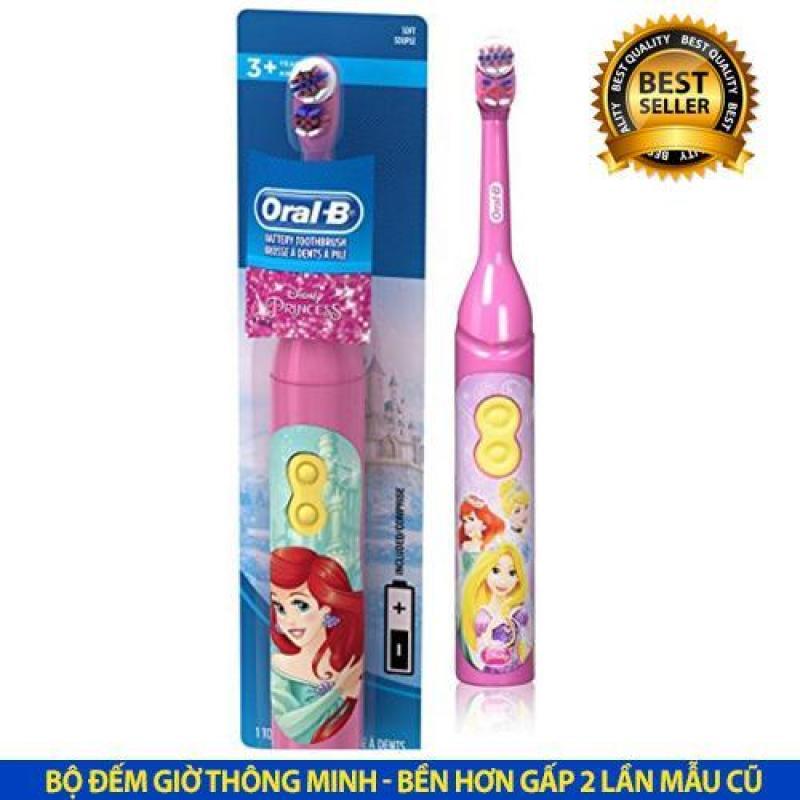 Bàn chải điện chạy pin Oral-B Battery Toothbrush Disney Princess2 USA cho bé từ 3 tuổi