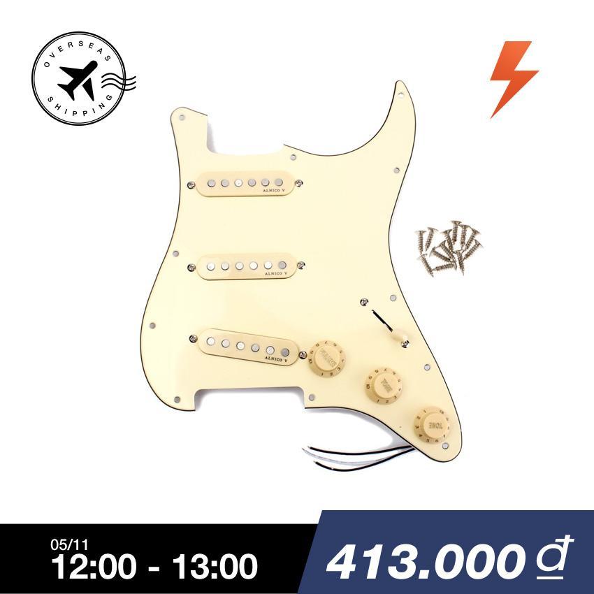 Bán Bolehdeals Sec Pickguard Alnico V Tải Về Cổ Điển Cho Đan Guitar Fender St Quốc Tế Trực Tuyến Trong Bình Dương