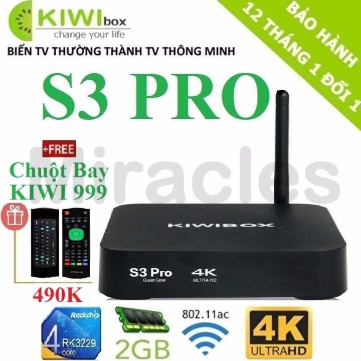 Cửa Hàng Android Tivi Box Kiwibox S3 Pro Tặng Chuột Bay Kiwi999 Trị Gia 490K Cặp Pin 3A Cao Cấp Phan Phối Bởi Miracles Company Kiwibox Trong Hồ Chí Minh