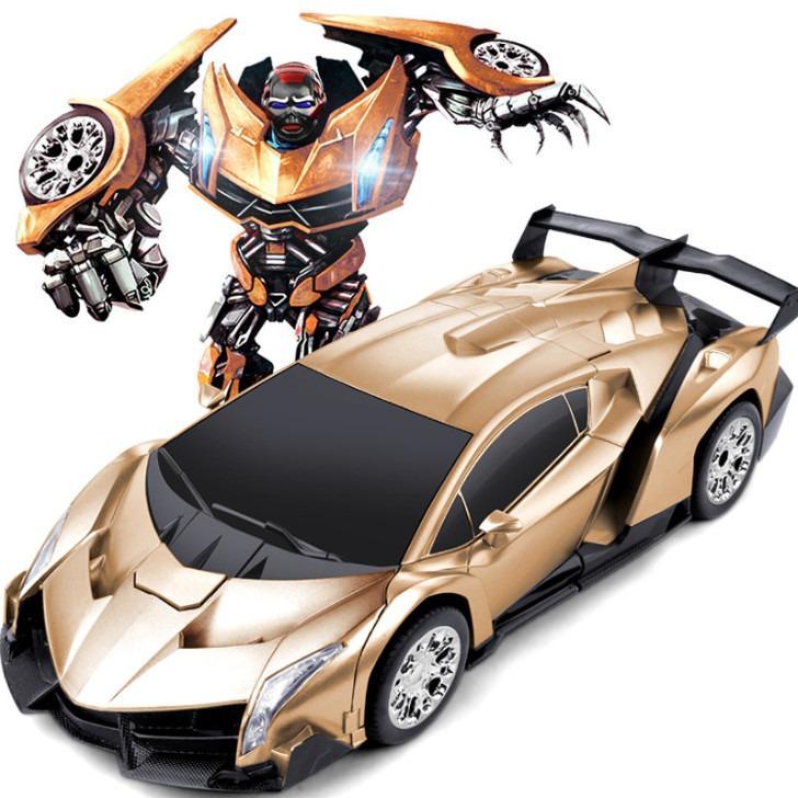 Hình ảnh Đồ chơi siêu xe ô tô biến hình thành Robot( màu tùy ý)