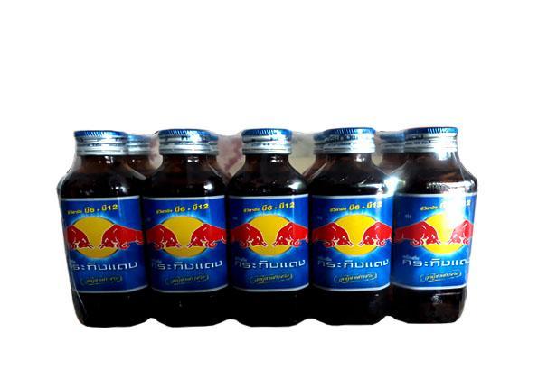 Hình ảnh Freeship Nước uống tăng lực Redbull 150ml Thái Lan ( 10 chai Thủy Tinh)
