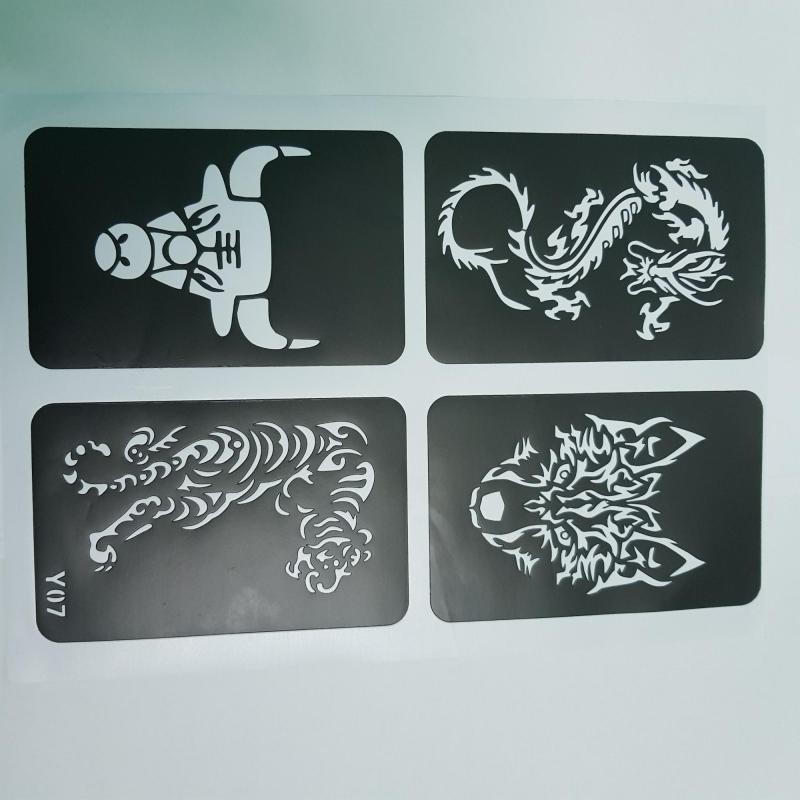 Khuôn vẽ henna ms Y07 cao cấp