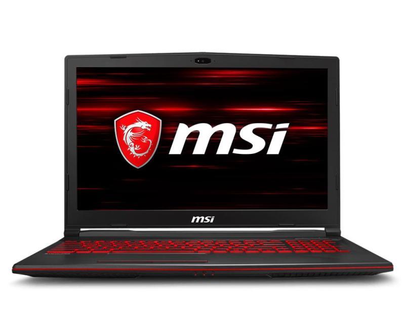 Laptop MSI GL63 8RC-266VN i5-8300H VGA GTX 1050 4GB, 15.6, Win 10 - Hãng Phân Phối Chính Thức