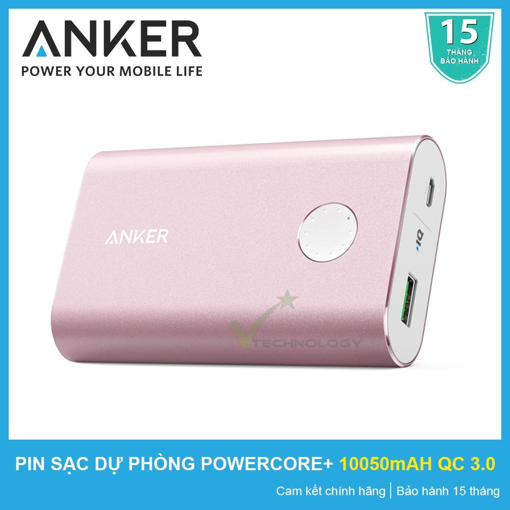 Ôn Tập Pin Sạc Dự Phong Anker Powercore 10050 Mah Quick Charge 3 Chinh Hang Bảo Hanh 15 Thang Mới Nhất