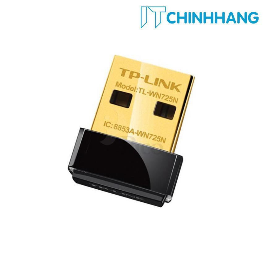 Hình ảnh USB kết nối Wifi TP-Link TL-WN725N Mini chuẩn N 150Mbps - HÃNG PHÂN PHỐI CHÍNH THỨC