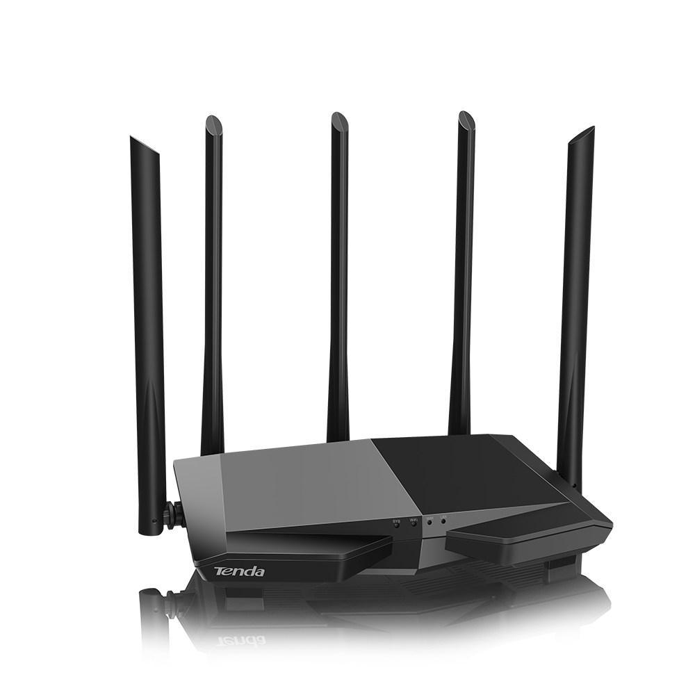 Hình ảnh Bộ Phát Wifi Tenda AC7 5 ăng ten 6dbi Phát wifi chuẩn AC1200 model 2018 (hàng nhập khẩu)