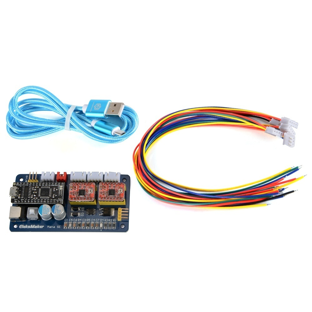 1 x 2 Axis Stepper Motor Driver Board 1 x USB Cable 6 .