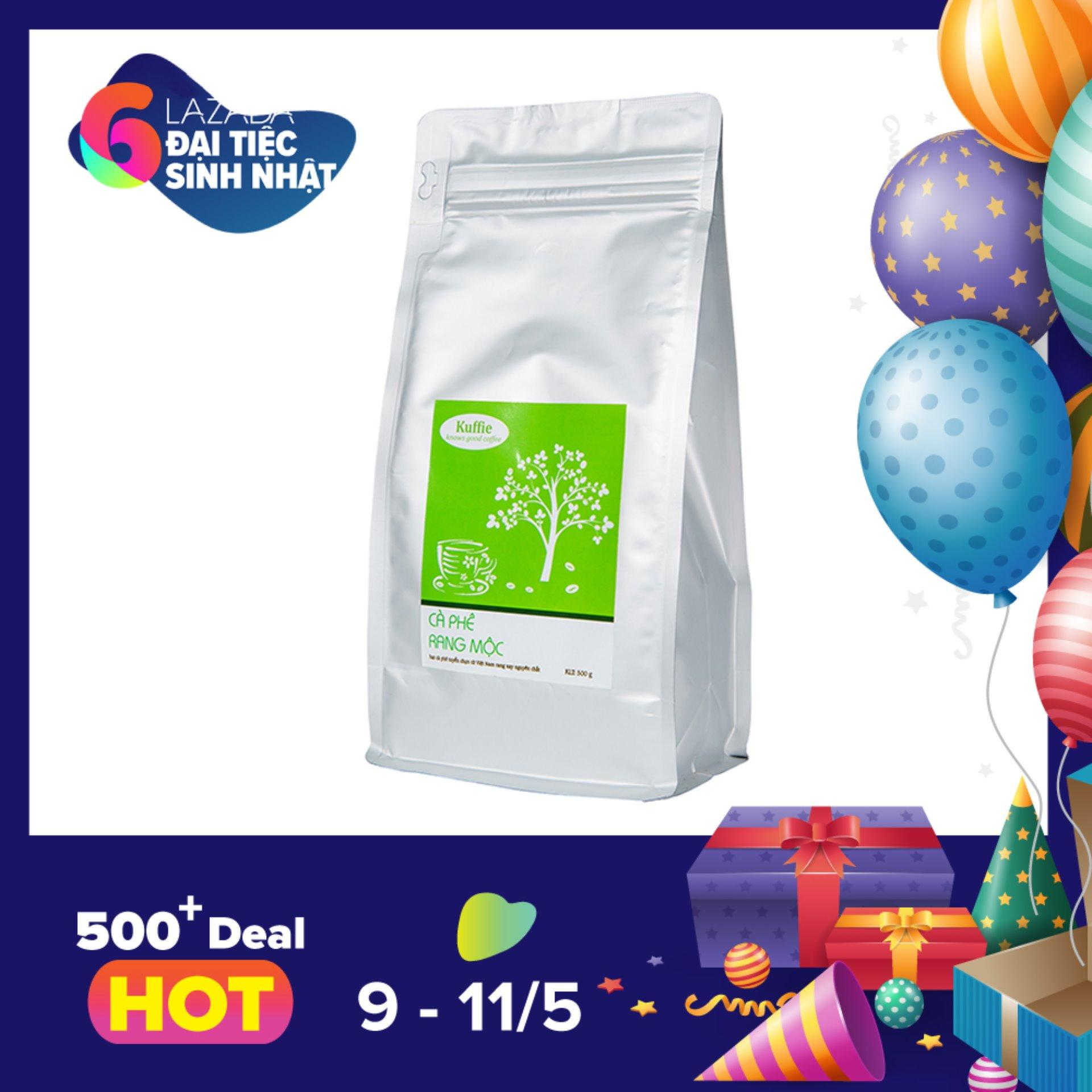Mua Ca Phe Bột Kuffie Special 100 Pure Coffee Robusta Arabica 500G Kuffie Nguyên