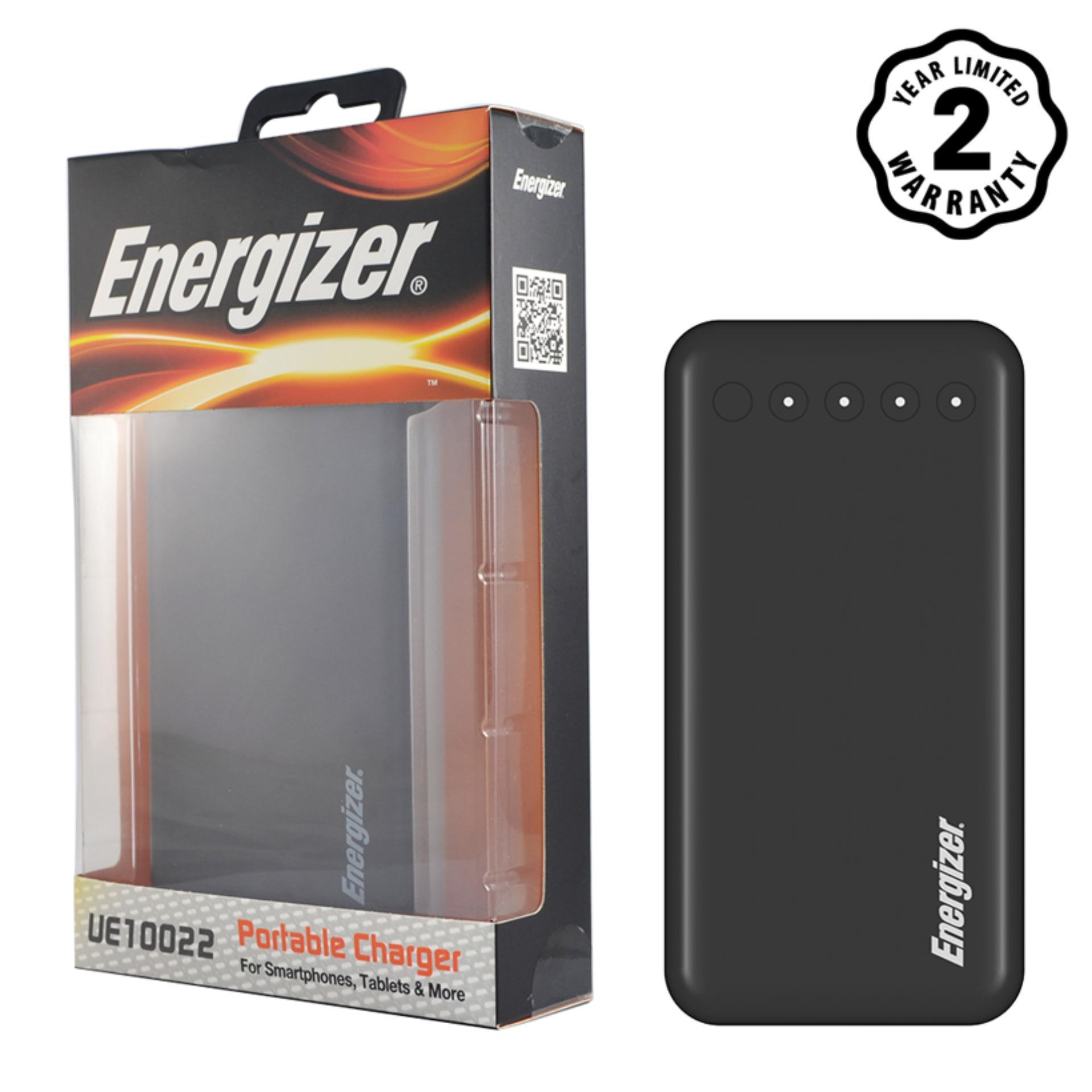 Hình ảnh Pin sạc dự phòng Energizer 10,000mAh Lõi Lithium Polymer - UE10022