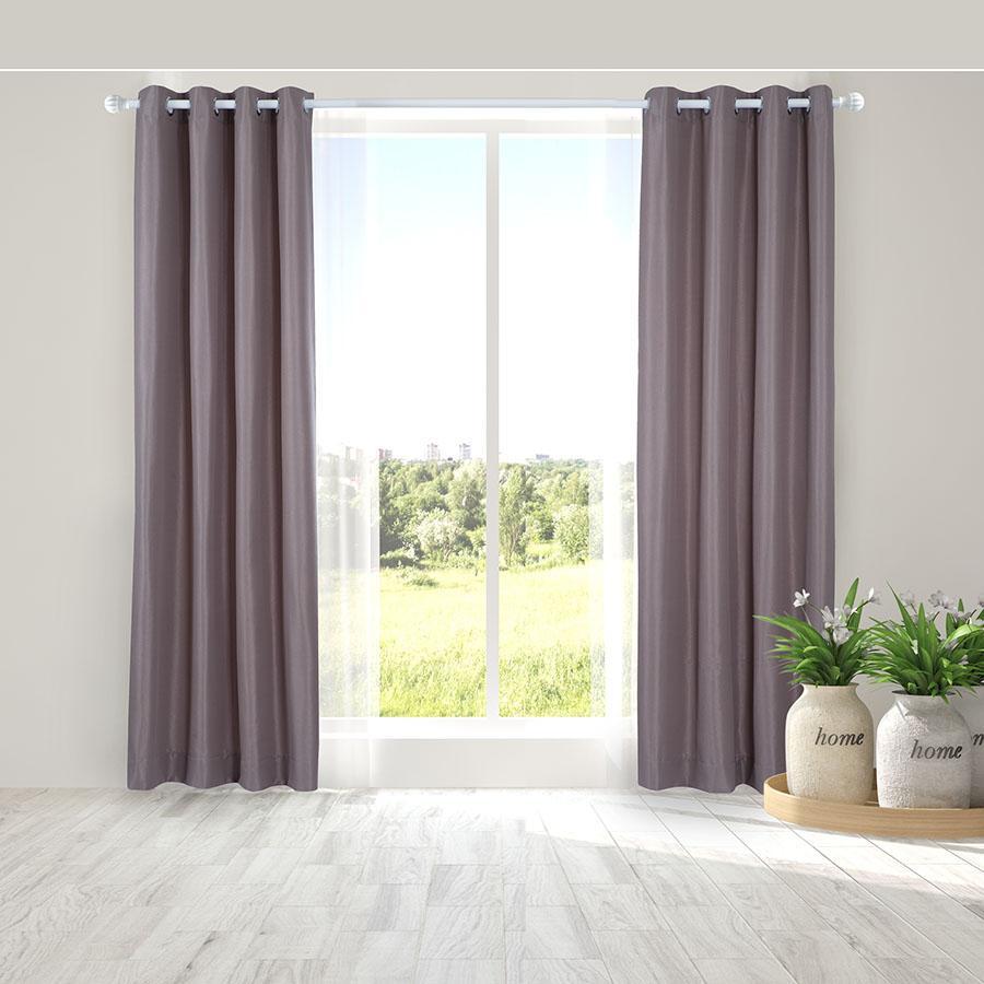 Bán Man Cửa Đơn Khoen Miss Curtain 135X220Cm An605 Taupe Có Thương Hiệu