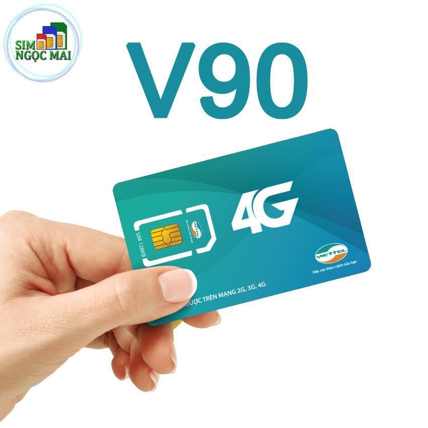 Hình ảnh Sim 3G 4G Viettel V90 KM 60GB Và Gọi Miễn Phí