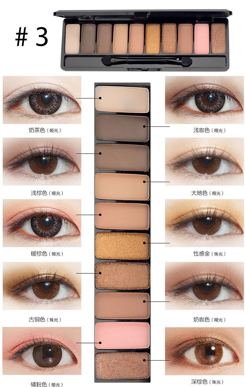 Hình ảnh Bảng phấn mắt Play Color Eyes của Lameila hàng nội địa Trung - 1126