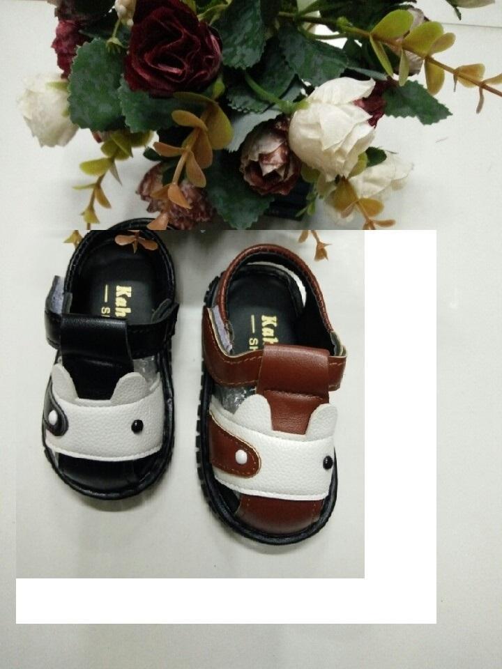 Hình ảnh Sandals bé trai thời trang, trơn màu đế mềm sz 15-19, 95k