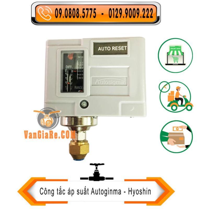 Rơ le áp suất HS-210 10kg Autosigma - công tắc áp suất
