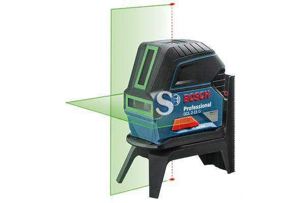 Máy cân mực, GCL 2-15 G tia xanh (MỚI), 0601066J00, Bosch
