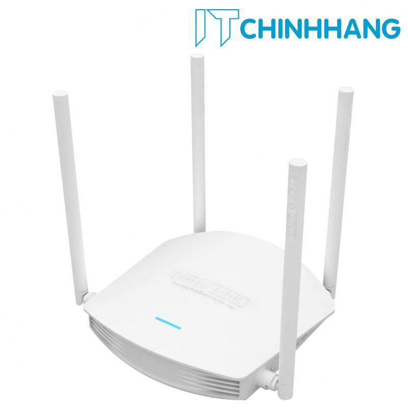 Bán Bộ Phat Wifi Totolink N600R 600Mbps Trắng Hang Phan Phối Chinh Thức Totolink Người Bán Sỉ
