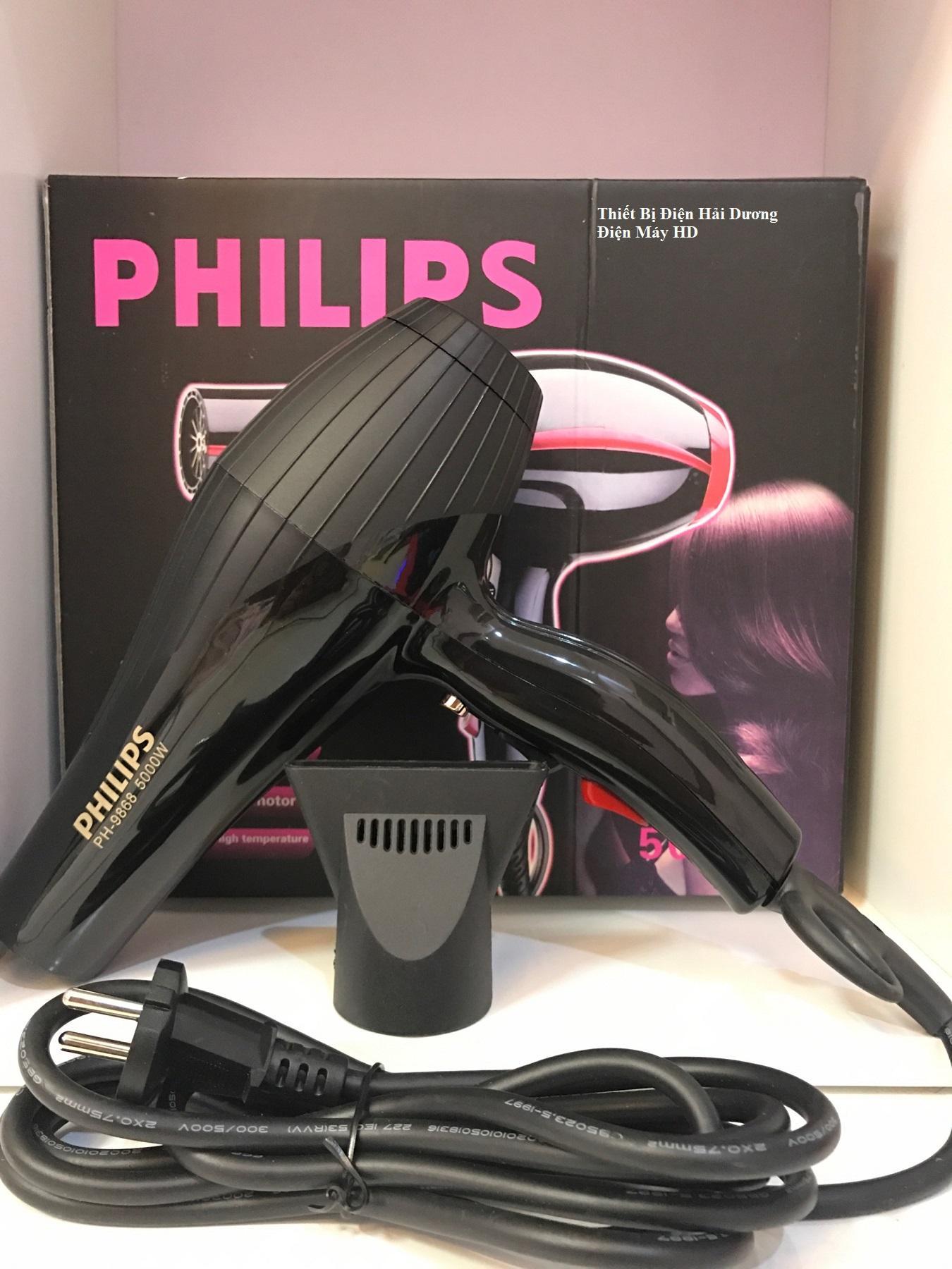 Hình ảnh Máy sấy tóc cao cấp PL PH-9868/1761 2 Chiều 5000W (Đen)