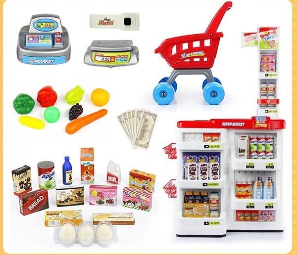 Bộ thu ngân xe đẩy siêu thị 15