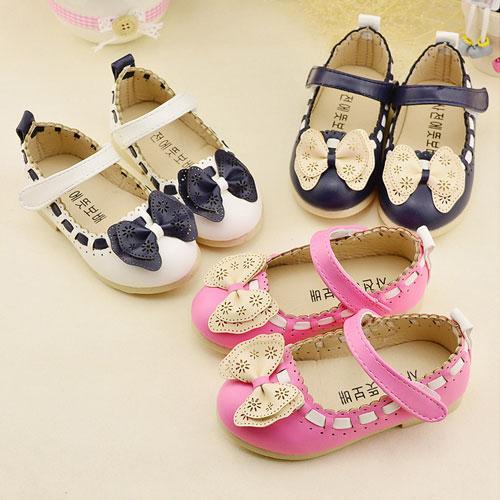 Giá bán Giày búp bê nơ bướm cho bé gái điệu đà - 03BB073