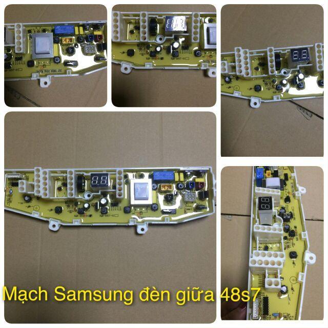 Hình ảnh Mạch Máy Giặt Samsung Đèn Giữa (Model:48S7-01)