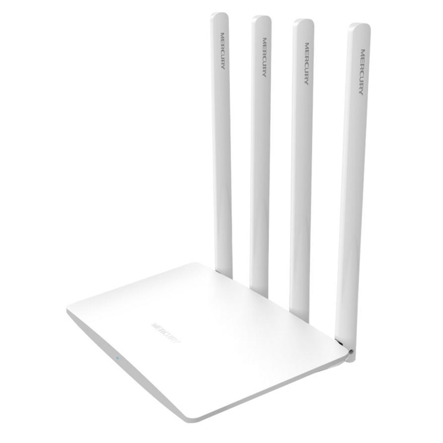Hình ảnh Bộ phát wifi không dây siêu mạnh 4 ăng ten Mercury MW325R tốc độ 300Mbps