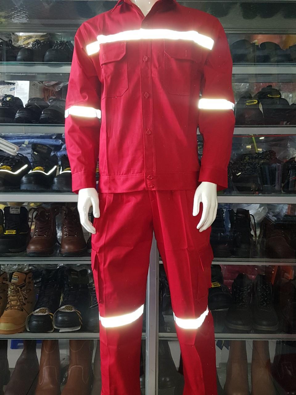 Quần áo rời vải Kaki màu đỏ