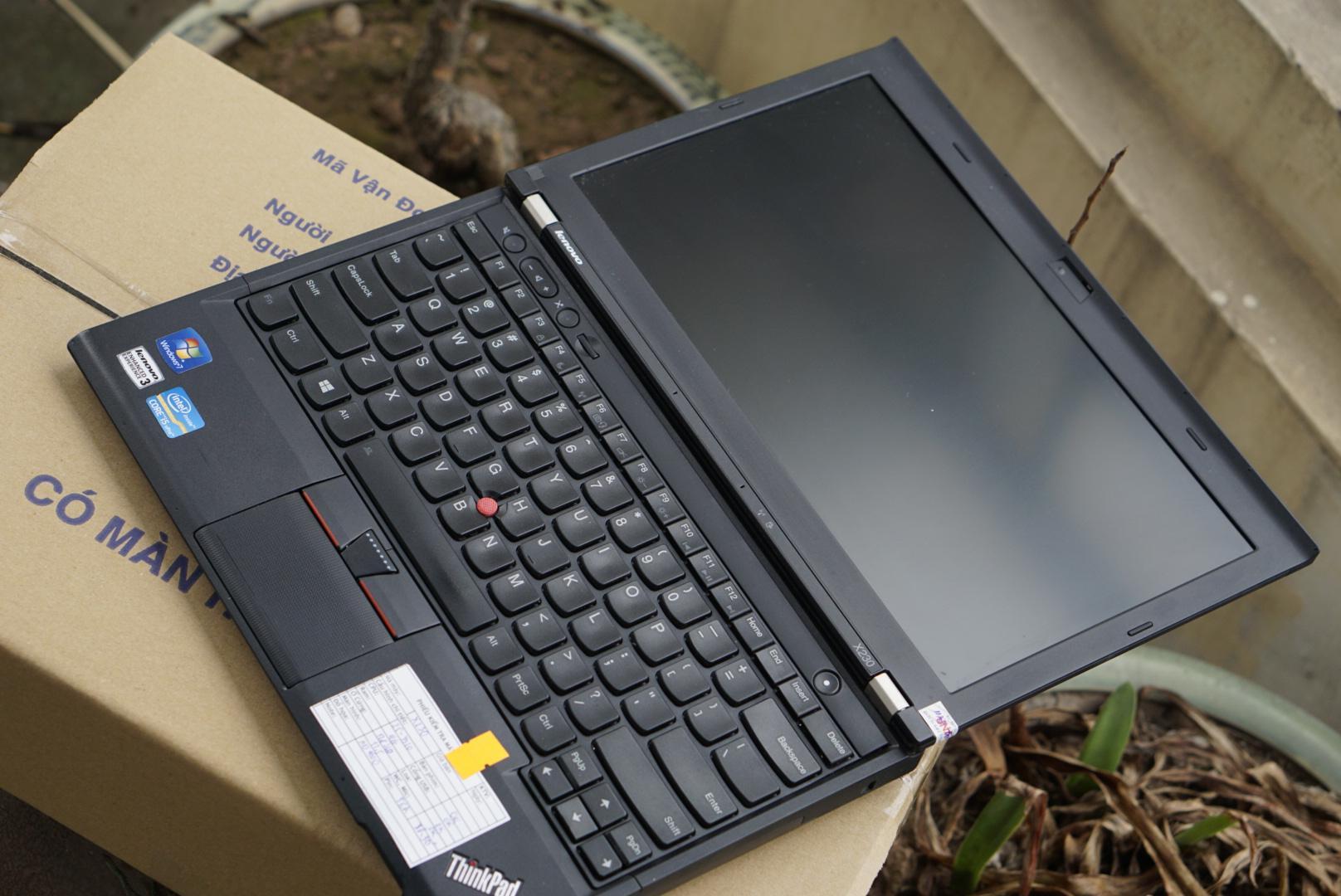 Hình ảnh Ơn Giời Cậu Đây Rồi- Siêu Mỏng Nhẹ- Siêu Di động- Lenovo ThinkPad X230 Core i3 3120M/ Đèn Nền/ 1,4kG