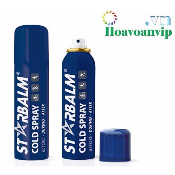 Hình ảnh Chai Xịt Lạnh Starbalm Cold Spray 150ml