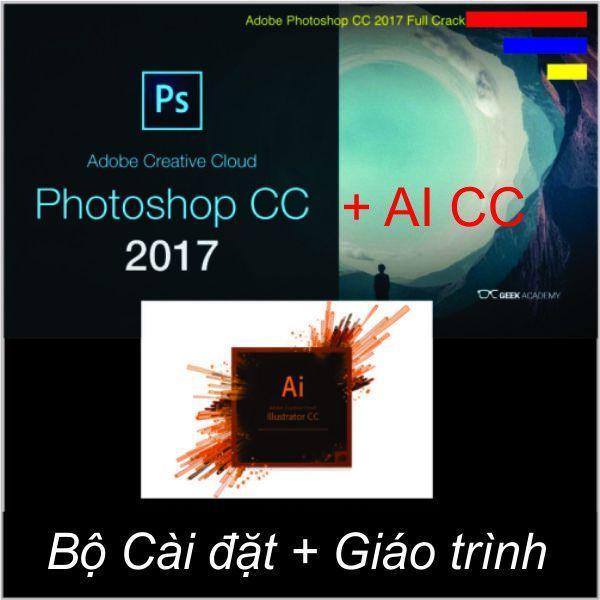 Hình ảnh Bộ Đĩa Photoshop Illustrator CC2017_ Giáo Trình A-Z