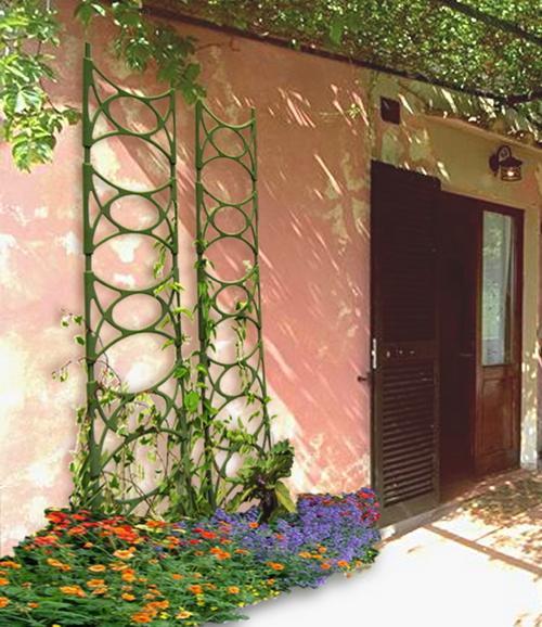 Thang trồng dây leo sân vườn có thể tháo rời nhiều khung