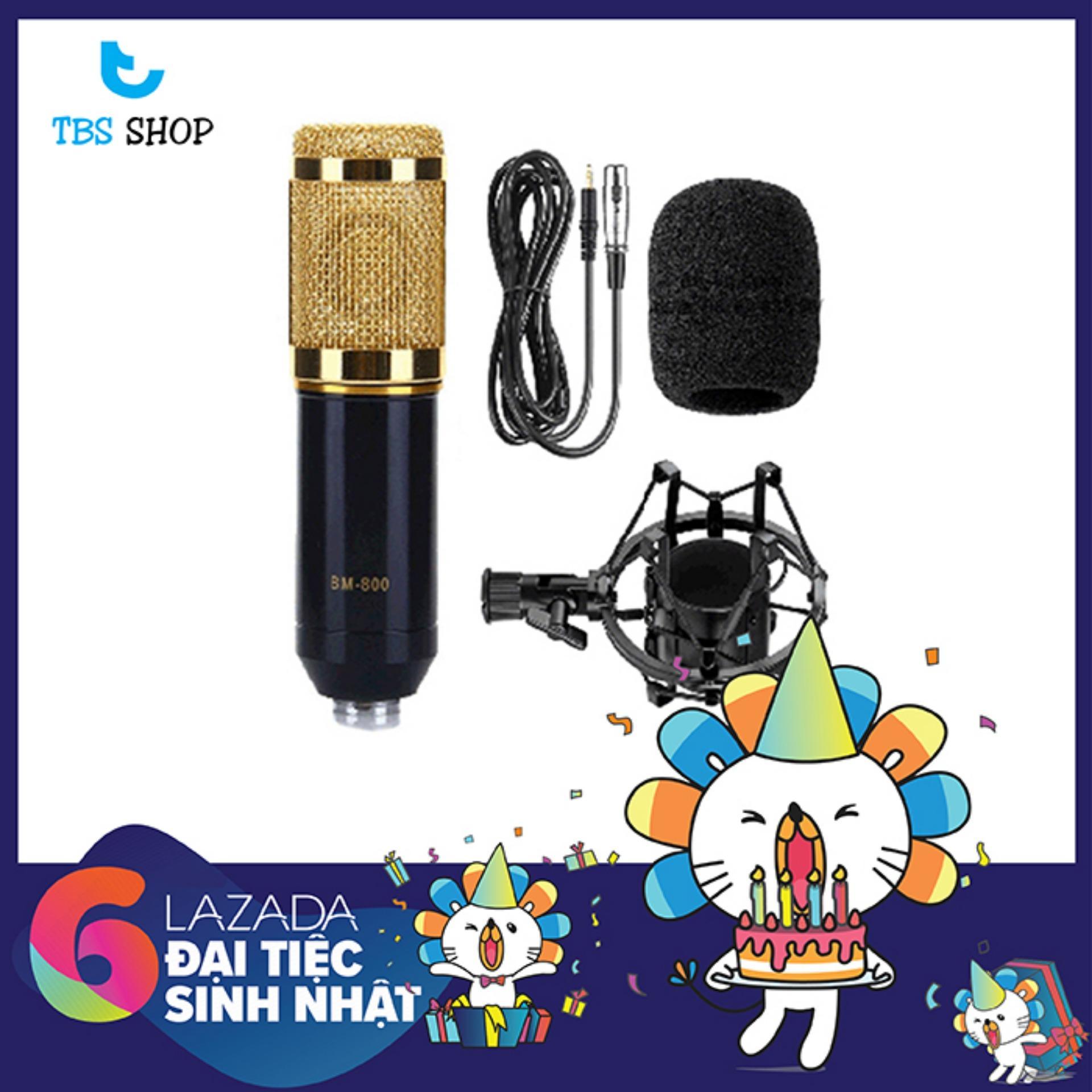 Micro Thu Âm Bm800 Giá Rẻ, Hát Karaoke