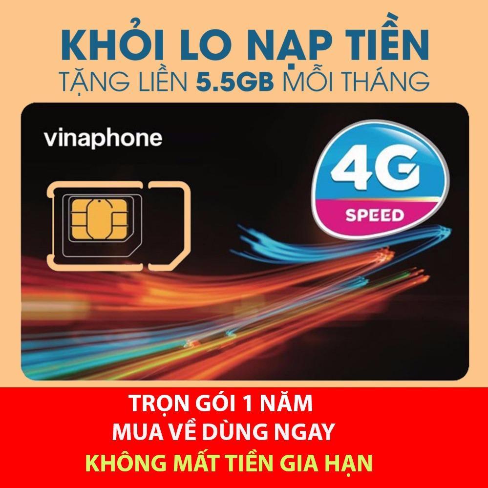 Sim 4G Vinaphone Vao Mạng Trọn Goi 1 Năm Miễn Phi Mới Nhất