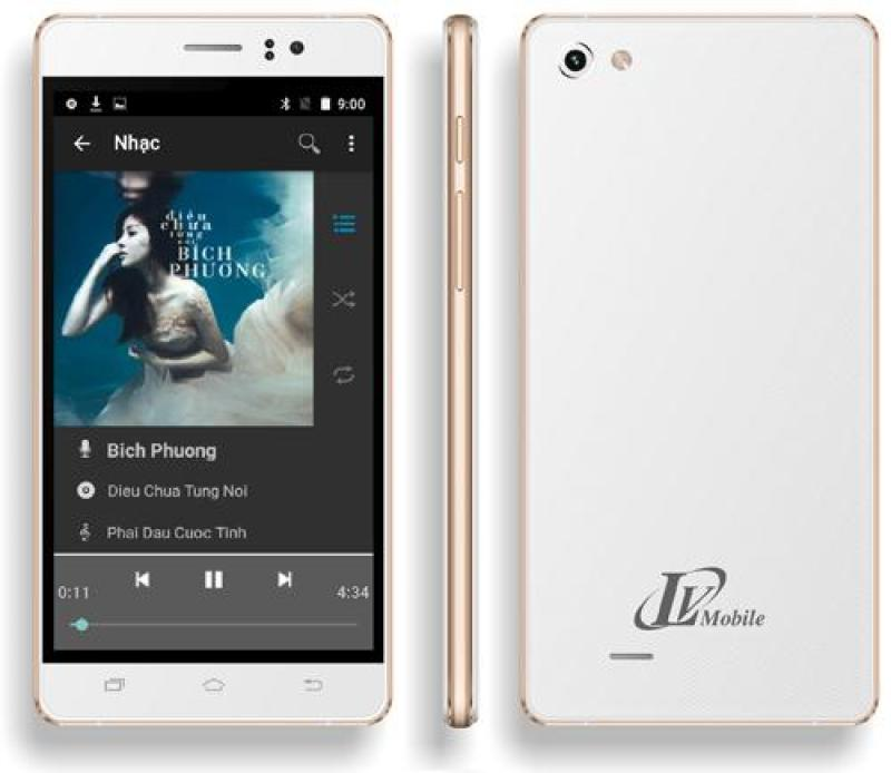 Điện thoại LV318 - 4GB - 2 SIM  - Tặng ốp lưng