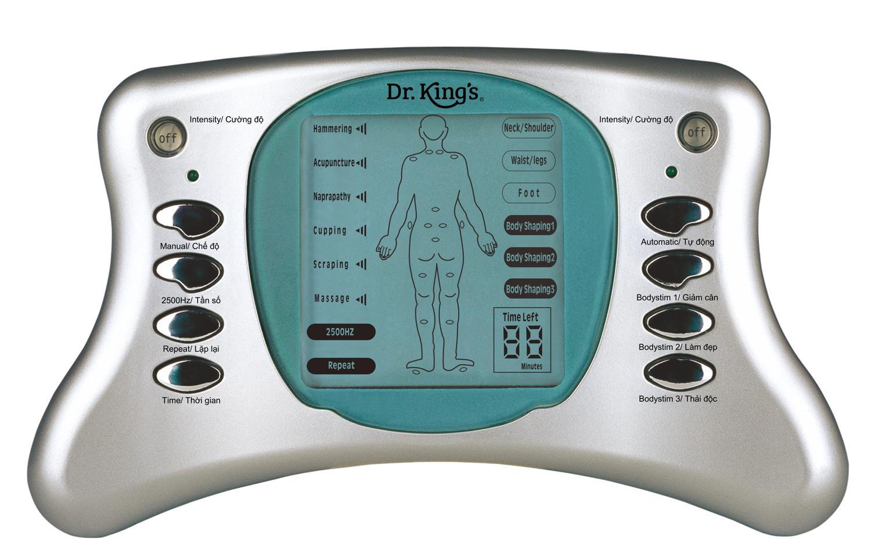 Hình ảnh Máy massage xung điện 8 miếng dán Dr. King