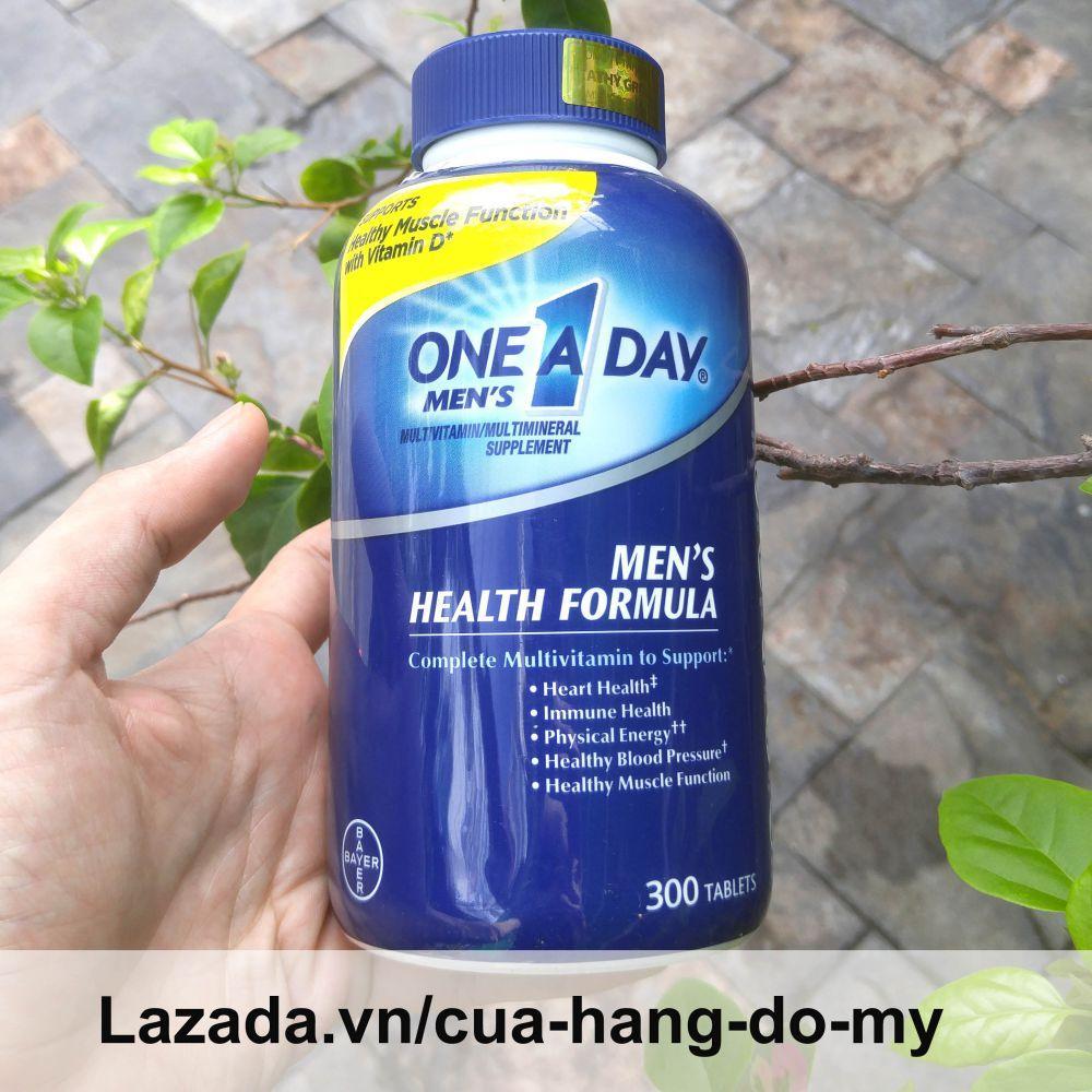 Hình ảnh Vitamin tổng hợp cho nam giới Viên uống vitamin One A Day Men's Multivitamin Health Formula, 300 viên