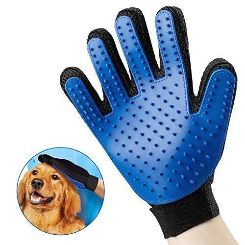 (1 chiếc tay phải) Găng tay chải lông, lấy lông rụng cho chó mèo (hanpet 350) gang tay siêu dính lông thú cưng, nhặt lông rụng Nhật Bản