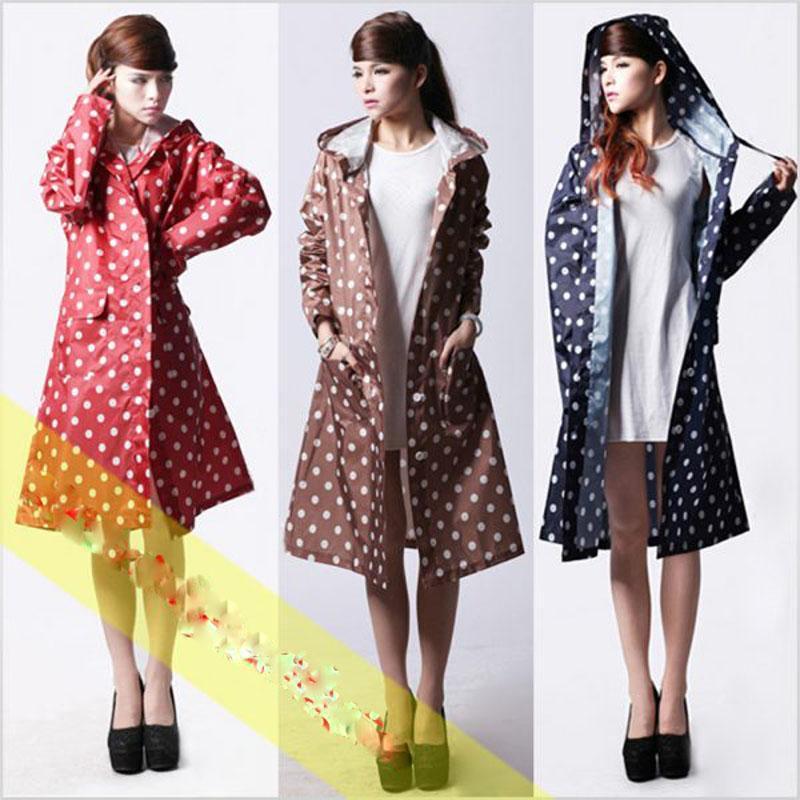 Áo mưa thời trang nữ mẫu 2