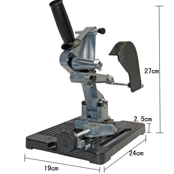 Bộ chân đế máy cắt bàn TZ6103 (loại đế dày 3kgs) dùng cho máy mài TZ-6103